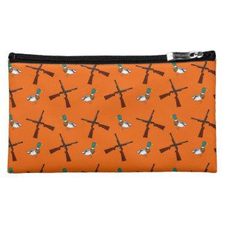 Modelo anaranjado de la caza del pato