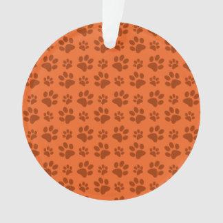 Modelo anaranjado de la impresión de la pata del p