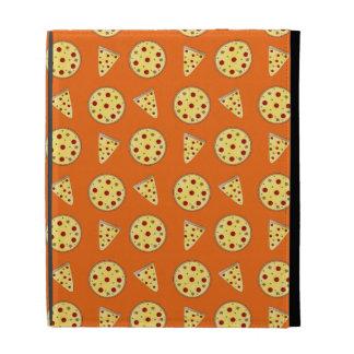 Modelo anaranjado de la pizza
