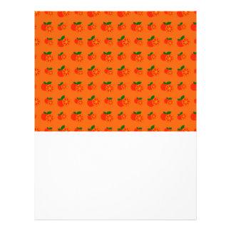 """Modelo anaranjado de los naranjas folleto 8.5"""" x 11"""""""