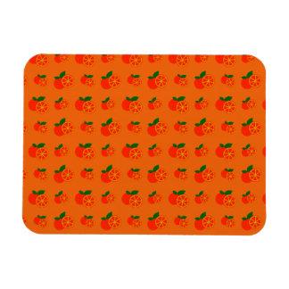 Modelo anaranjado de los naranjas imán flexible