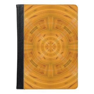 Modelo anaranjado de moda del círculo