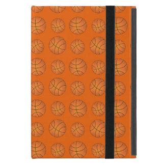 Modelo anaranjado del baloncesto iPad mini protectores