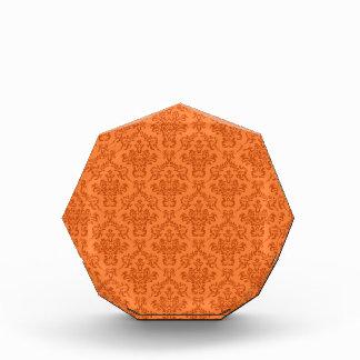 Modelo anaranjado del damasco