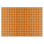 Modelo anaranjado del diamante de la combinación tablas para cortar