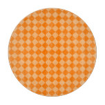 Modelo anaranjado del diamante de la combinación tabla de cortar