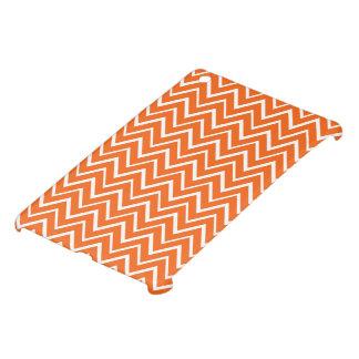 Modelo anaranjado del galón del zigzag de moda