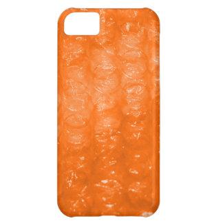 Modelo anaranjado del plástico de burbujas carcasa para iPhone 5C