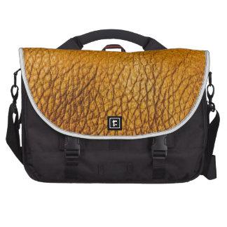 Modelo anaranjado del rexine bolsas de portatil