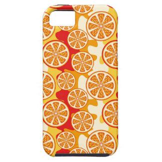 Modelo anaranjado iPhone 5 carcasas
