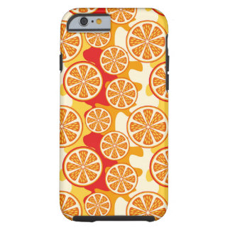 Modelo anaranjado funda para iPhone 6 tough