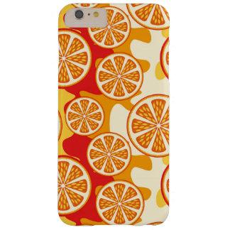 Modelo anaranjado funda barely there iPhone 6 plus