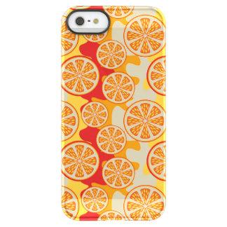 Modelo anaranjado funda permafrost™ deflector para iPhone 5 de uncom