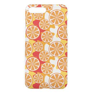 Modelo anaranjado fundas para iPhone 7 plus