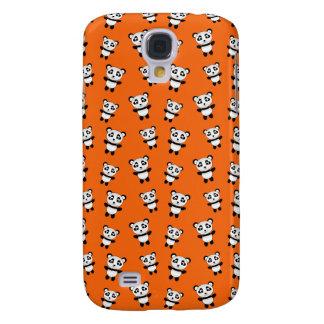 Modelo anaranjado lindo de la panda