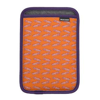 Modelo anaranjado lindo del tocino funda de iPad mini