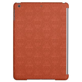 Modelo anaranjado profundo del damasco del vintage