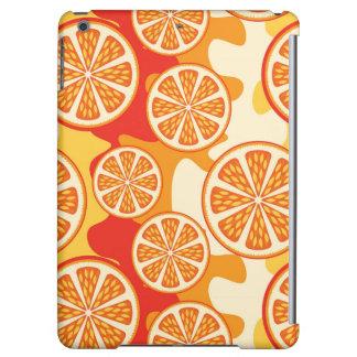 Modelo anaranjado retro de la fruta cítrica