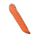 Modelo anaranjado tabla de skate