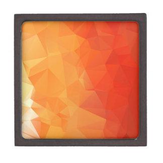 Modelo anaranjado y rojo de la faceta cajas de regalo de calidad