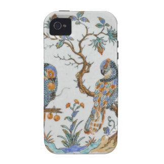 Modelo antiguo de China de la porcelana del pájaro Vibe iPhone 4 Carcasa