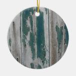 Modelo antiguo de la corteza ornamento para arbol de navidad
