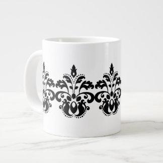 Modelo antiguo del damasco del lolita del victoria taza de café grande