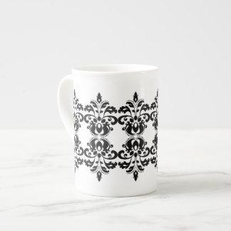 Modelo antiguo del damasco del lolita del victoria taza de té
