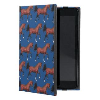 Modelo árabe del potro de Brown del caballo de la iPad Mini Cárcasa