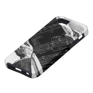 Modelo arquitectónico del negocio del arquitecto d iPhone 5 Case-Mate cárcasa