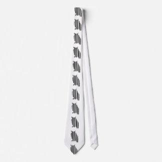 Modelo aviar del diseño del código de barras del corbata