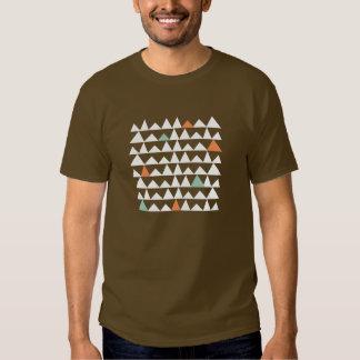 Modelo azteca de los Andes de los triángulos Remeras