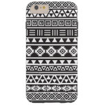 Modelo azteca del estilo - monocromo funda de iPhone 6 plus tough