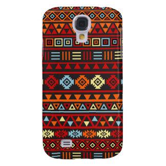 Modelo azteca del estilo - rojo azul del amarillo