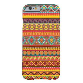 Modelo azteca funda de iPhone 6 slim
