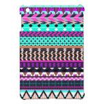 Modelo azteca magenta ciánico iPad mini coberturas