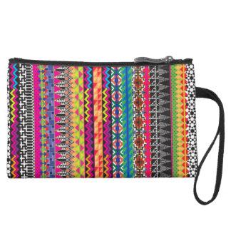 Modelo azteca tribal colorido