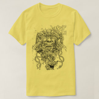 Modelo Azteka design of very good quality T-shirt