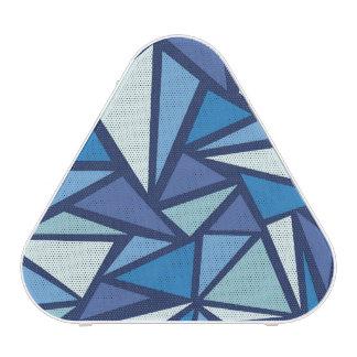 Modelo azul abstracto de Crsytal del hielo Altavoz Bluetooth