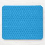 modelo azul alfombrillas de ratón