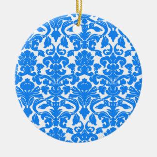 Modelo azul azul del damasco ornatos