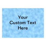 Modelo azul claro con el texto negro de encargo plantilla de tarjeta personal