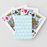 Modelo azul claro de princesa Carriages Baraja Cartas De Poker