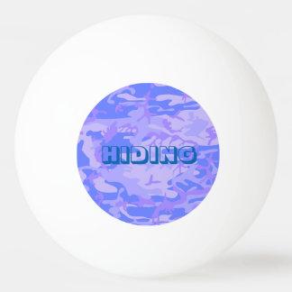 Modelo azul claro del camuflaje pelota de ping pong