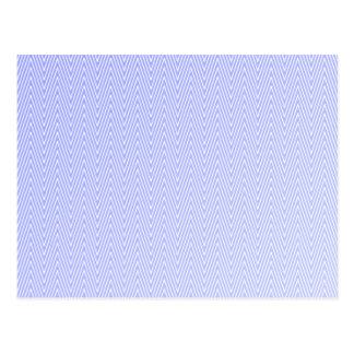 Modelo azul claro del galón postal