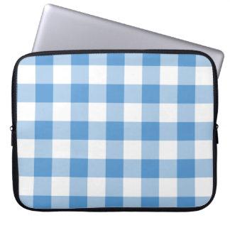 Modelo azul claro y blanco de la guinga manga portátil