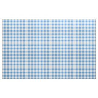Modelo azul claro y blanco del bloque de la guinga telas