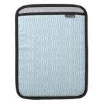 Modelo azul claro y blanco fresco del círculo funda para iPads