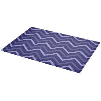 Modelo azul claro y de los azules marinos de tablas para cortar