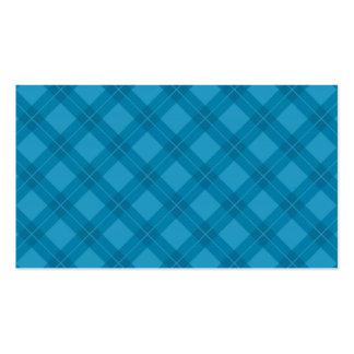 Modelo azul de Argyle Plantilla De Tarjeta Personal